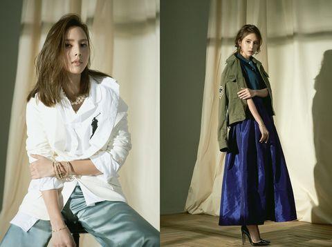 Clothing, Fashion, Street fashion, Outerwear, Fashion model, Trench coat, Fashion design, Coat, Textile, Dress,