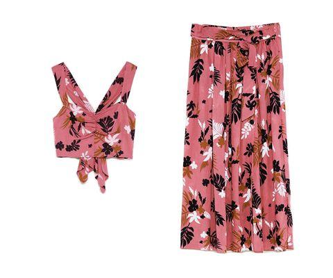 Clothing, Pink, Peach, Trousers, Leggings, Shorts, Pencil skirt,