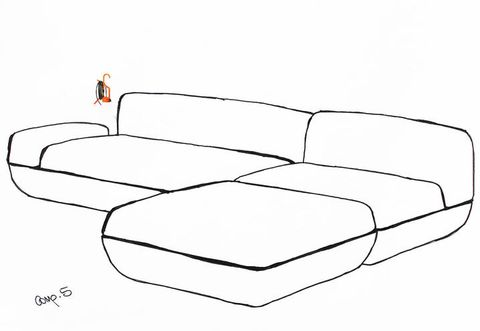 White, Comfort, Black-and-white, Armrest, Drawing, studio couch, Living room, Futon,