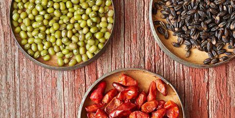 Food, Ingredient, Bean, Azuki bean, Superfood, Cuisine, Vegetable, Produce, Plant, Dish,