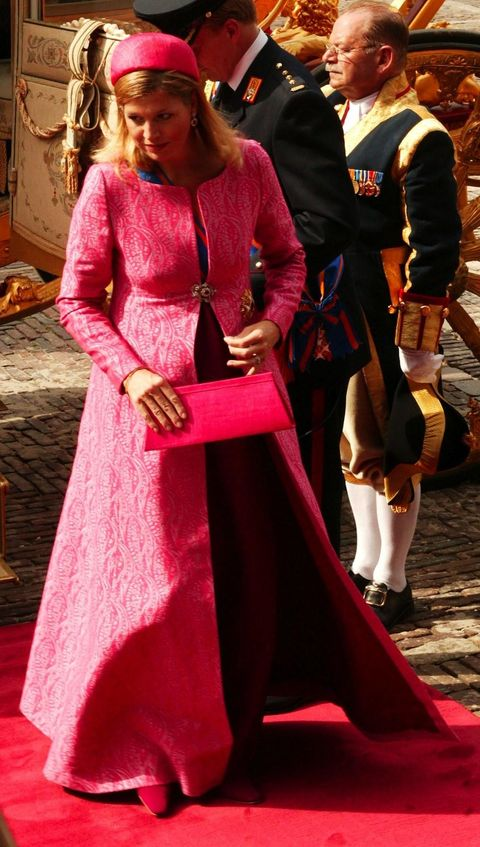 Pink, Fashion, Dress, Magenta, Outerwear, Gown, Costume, Event, Tradition, Costume design,
