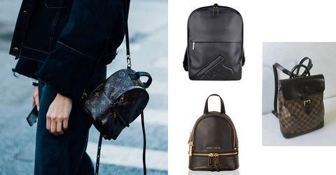 Bag, Handbag, Leather, Fashion accessory, Baggage, Luggage and bags, Backpack, Satchel,