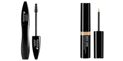 Cosmetics, Mascara, Beauty, Eyebrow, Eye, Eye liner, Brush, Material property, Makeup brushes, Eyelash,