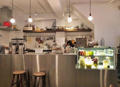 六張犁,咖啡廳,輕食,工作咖啡廳,漂亮咖啡廳,必吃,美食,食記,冷壓果汁,三明治,燉菜,大安區,台北,沙拉