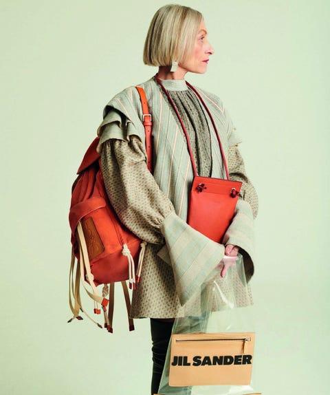 Shoulder, Bag, Orange, Fashion, Handbag, Joint, Fashion accessory, Street fashion, Satchel, Diaper bag,