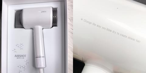 Hair dryer, Microphone,