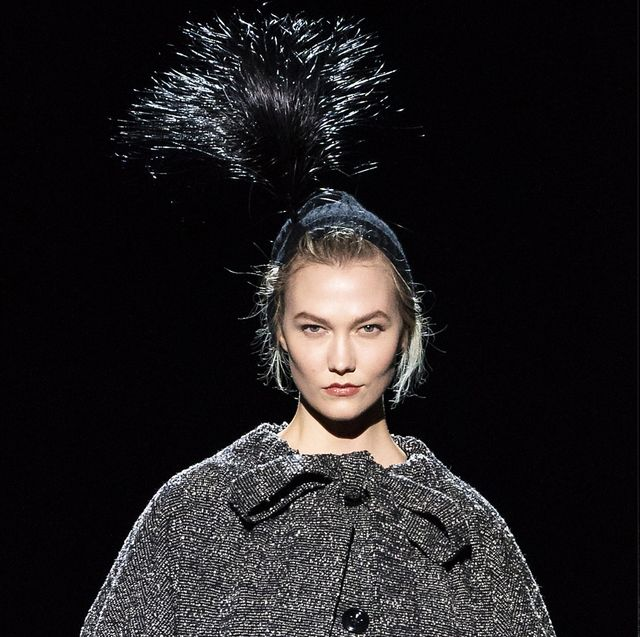 Fashion model, Fashion, Haute couture, Beauty, Hairstyle, Dress, Runway, Model, Fur, Photography,