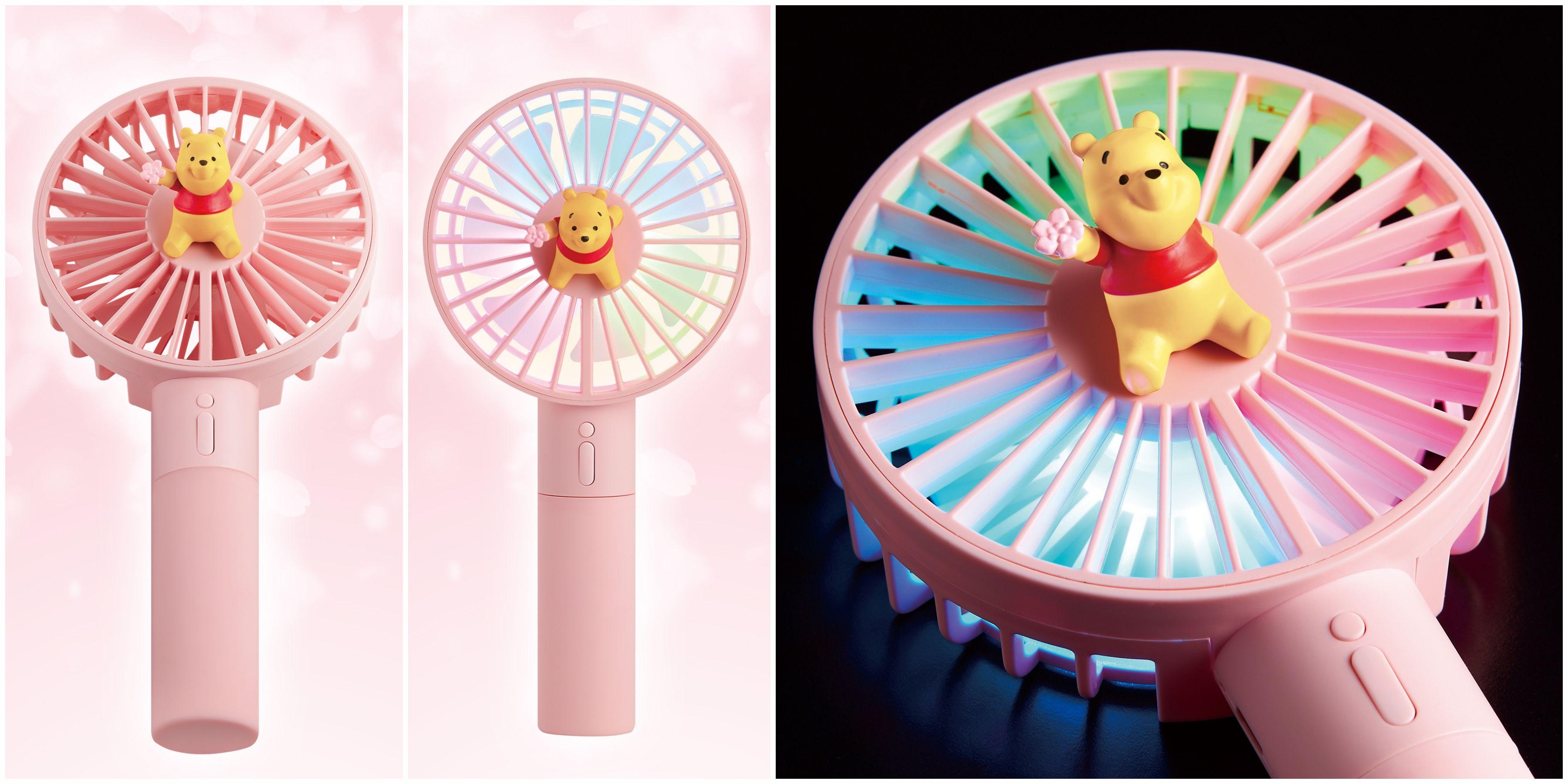 7-ELEVEN,米奇90週年,米奇3c,櫻花季,小熊維尼,隨身風扇,水氧機,藍芽喇叭,粉紅