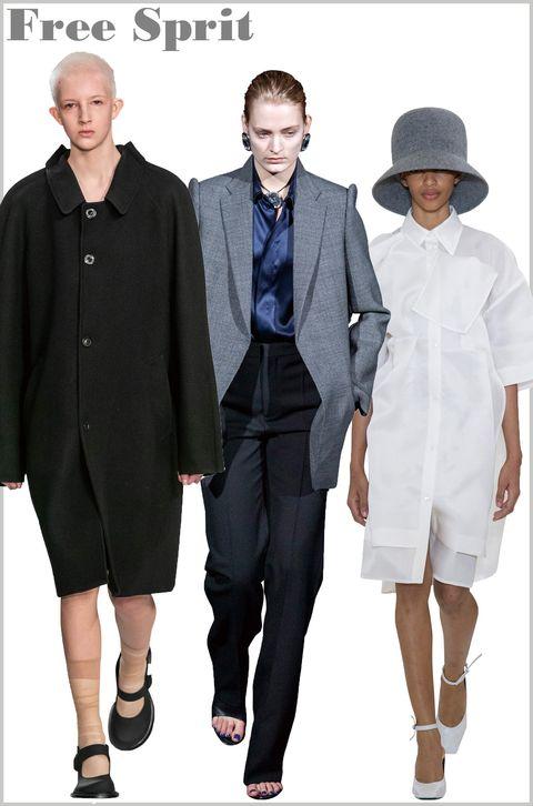 Clothing, Fashion, Suit, Formal wear, Uniform, White-collar worker, Outerwear, Fashion design, Coat, Hat,