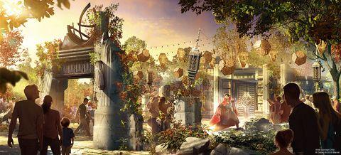 迪士尼樂園全新「復仇者校園」園區即將開幕!近距離體驗復仇者聯盟總部科技不是夢