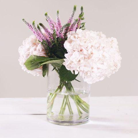 Flower, Cut flowers, Bouquet, Plant, Vase, Pink, Flowering plant, Lilac, Flower Arranging, Floristry,