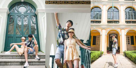 Photograph, Fashion, Snapshot, Architecture, Photography, Fun, Summer, Tourism, Vacation, Street fashion,