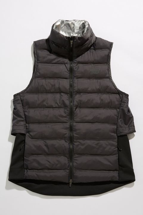 Clothing, Outerwear, Black, Jacket, Vest, Sleeve, Hood,