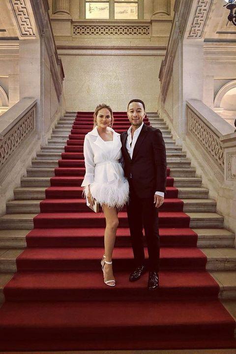 クリッシー・テイゲン ジョン・レジェンド 結婚記念日フォト 結婚6周年