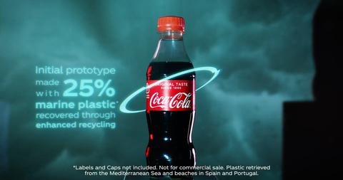 Drink, Cola, Coca-cola, Bottle, Non-alcoholic beverage, Coca, Soft drink, Carbonated soft drinks, Plant, Brand,
