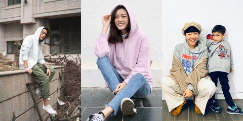 UNIQLO,SWEAT,穿搭,日本服裝,情侶穿搭,母子穿搭,年末穿搭,跨年