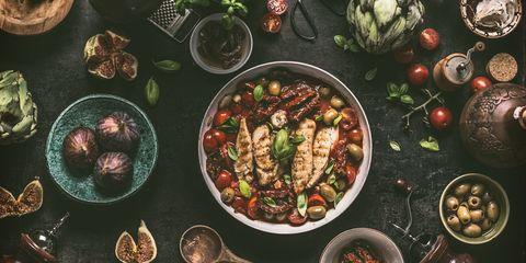 ベストダイエット その1「地中海式ダイエット」|【2019年】ダイエットのトレンド、ベスト&ワースト TOP 3