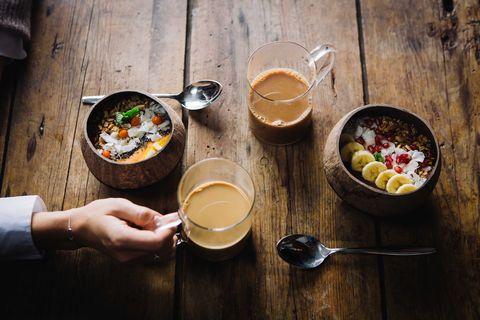 Food, Dish, Cuisine, Ingredient, Meal, Breakfast, Brunch, Comfort food, Soup, Drink,