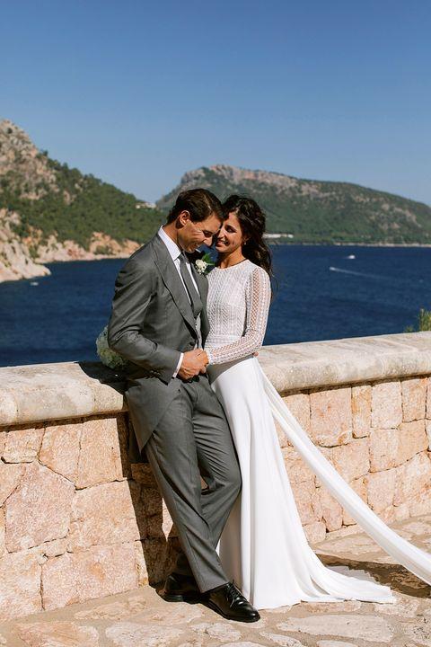 テニス選手のラファエル・ナダルが結婚。ウエディング写真を公開
