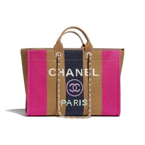 CHANEL 撞色大型購物包,NT. 139,200
