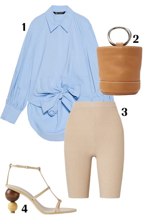 White, Clothing, Blue, Product, Yellow, Sleeve, Footwear, Shorts, Beige, Trousers,
