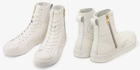 日本converse最新「all star coupe leather z shin hi」系列,將品牌著名的高筒鞋版型,套上全皮革材質,在經典之中又多了幾分細緻!