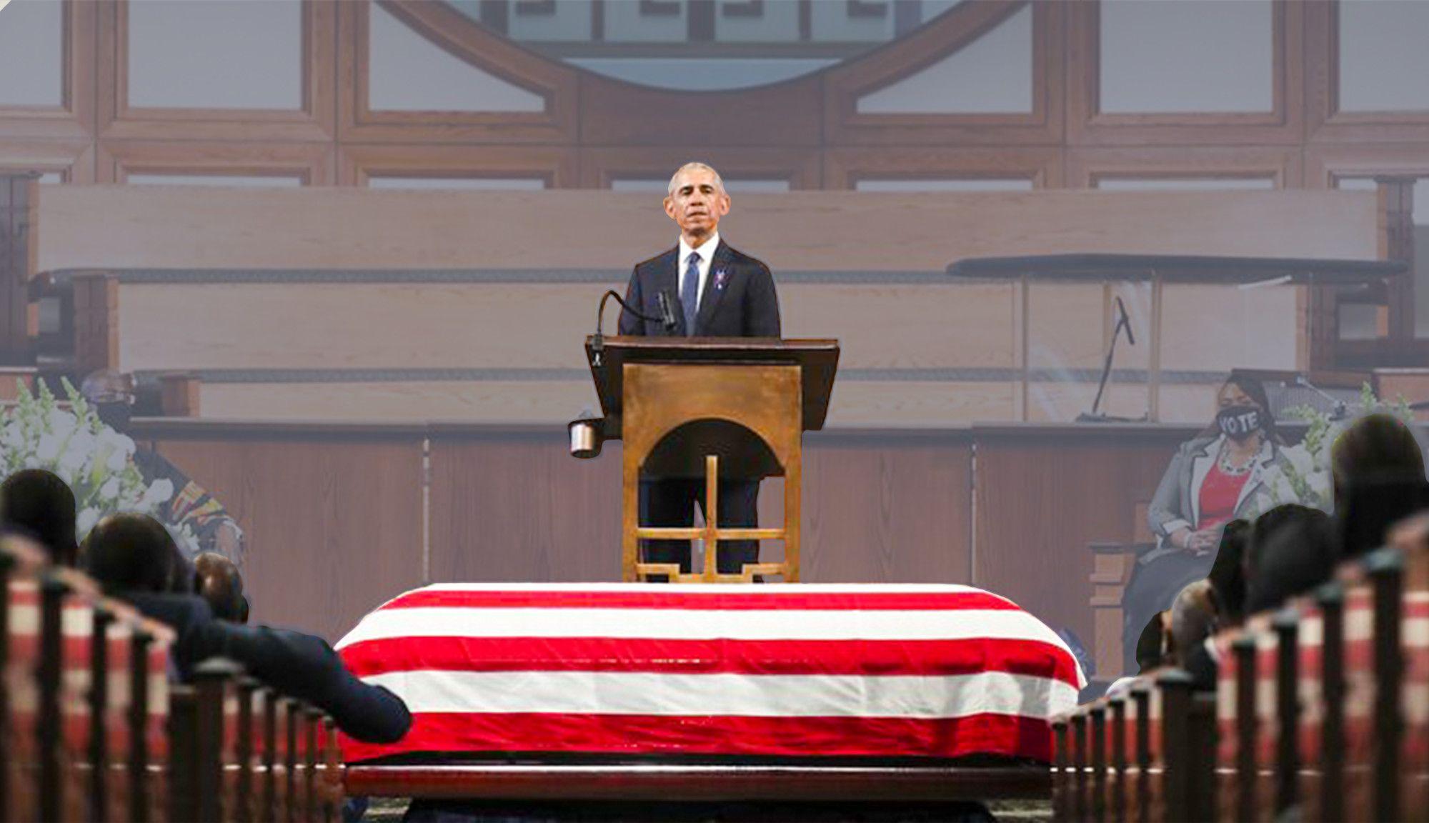 In His Eulogy for John Lewis, Barack Obama Just Changed the Landscape of a Joe Biden Presidency