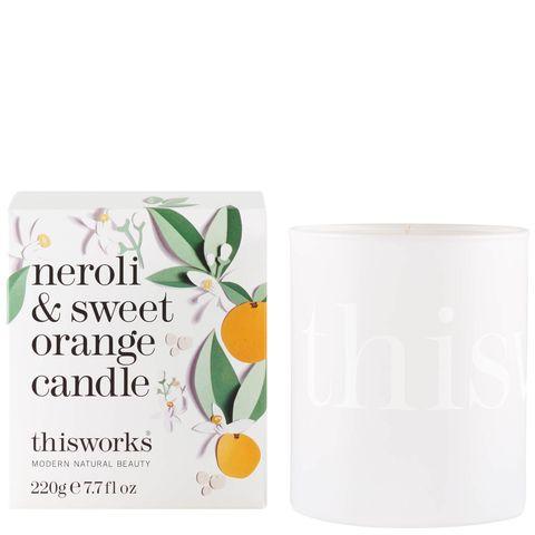 this works限量版橙花橙和甜橙蠟燭