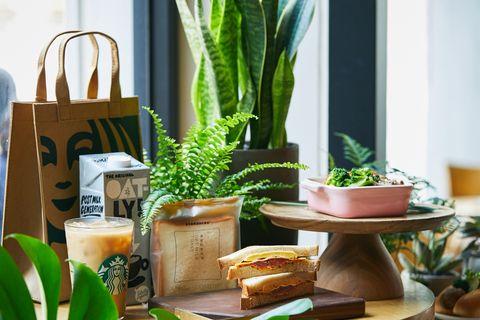 星巴克推出蔬食計畫,燕麥奶生吐司 、芝麻抹茶那堤