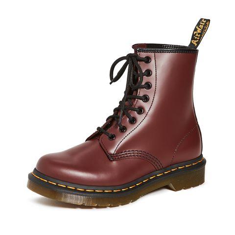 drmartens櫻桃紅8孔靴
