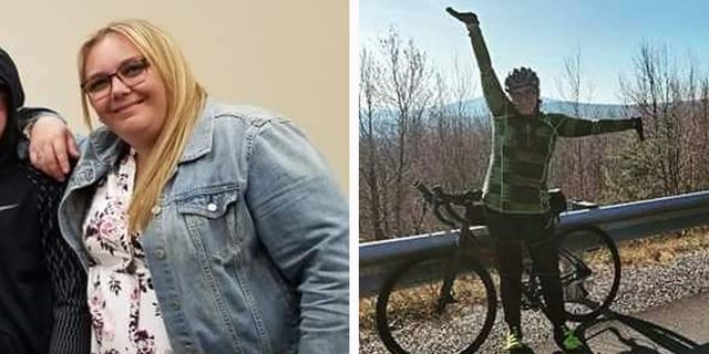 weight loss cycling tatianna wawrzynski