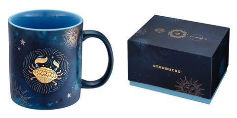 2021星巴克「12星座馬克杯」!絕美銀河系配色、代表符號設計,快來擁有你的星座命定款