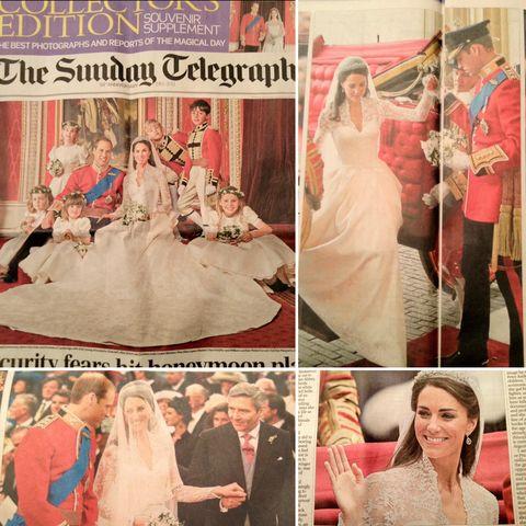 英国キャサリン妃のウエディング