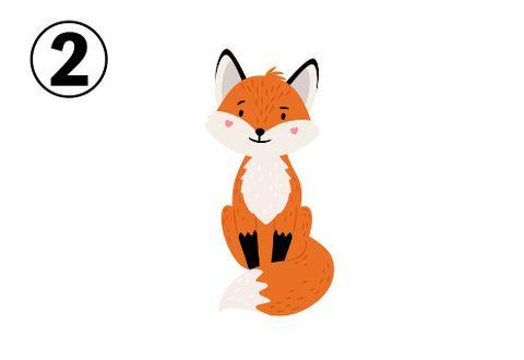 日本爆紅心理測驗!直覺選出一隻「小狐狸」,秒測出內心狡猾指數