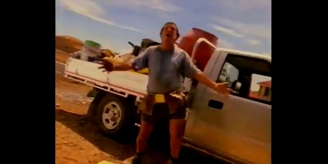 1998 holden rodeo tv commercial