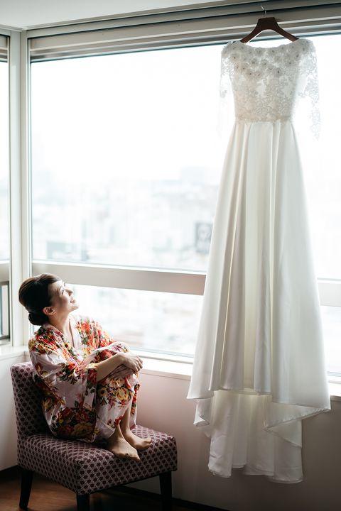 nacoさんのオーダーメイドのウエディング・ドレス
