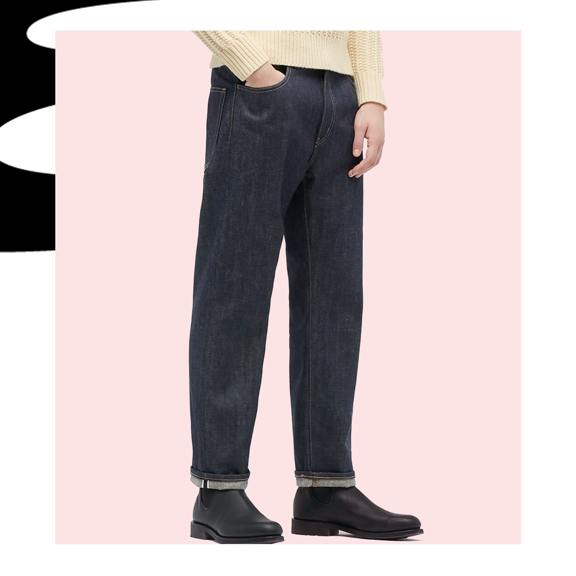 Uniqlo's Selvedge Jeans Will Help You Get Back Into the Swing of Things