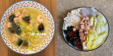蝦仁娃娃菜菜