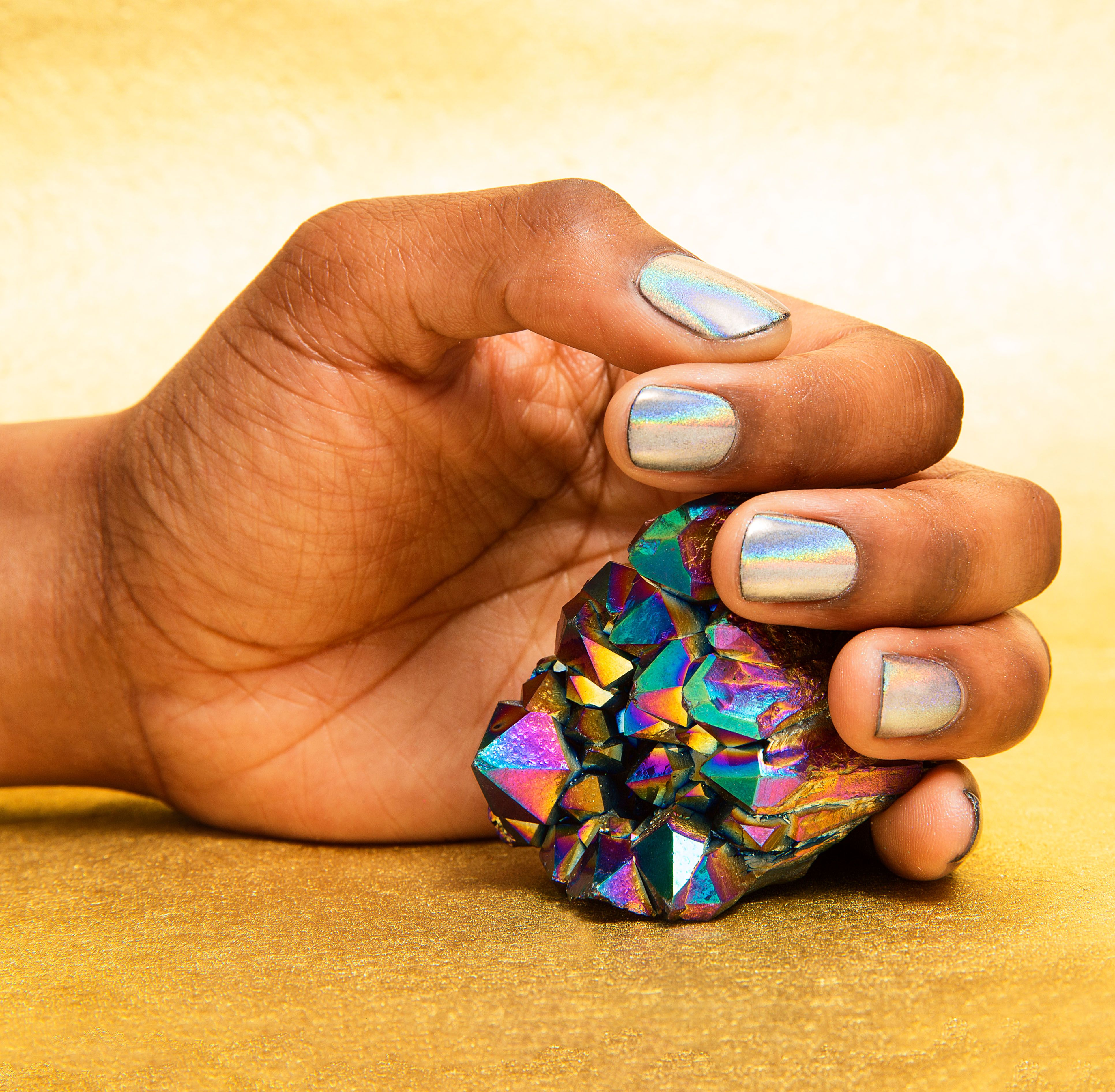 sally hansen is launching an at home chrome mani kit that u0027s pure