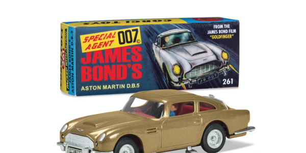 Official Model Cars From the Bond Films Ready for Your Order