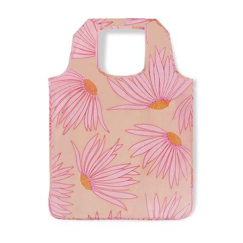 10個設計感環保袋推薦 kate spade馥郁花蕾摺疊收納購物袋