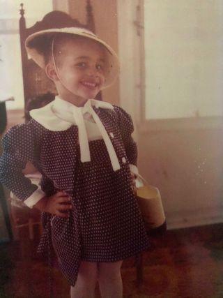 alexis mcgill johnson at age 4