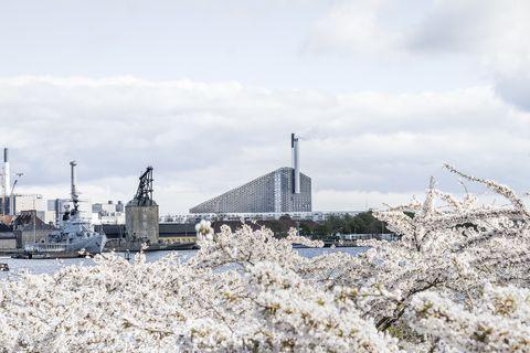 BIG Designs a Waste Plant in Copenhagen Complete with Ski Slopes