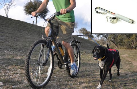 dog leash for bikes