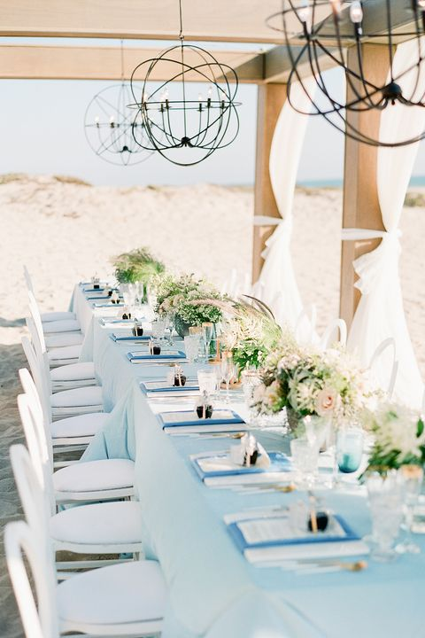 b0b41aeec 21 Gorgeous Beach Wedding Ideas for 2018 - Beach Theme Wedding Tips
