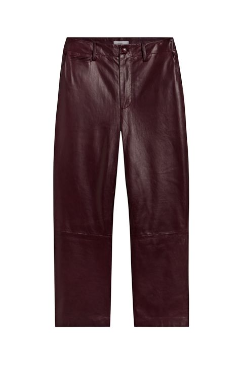 Clothing, Jeans, Pocket, Denim, Maroon, Trousers, Leather, Textile, Shorts, Sportswear,