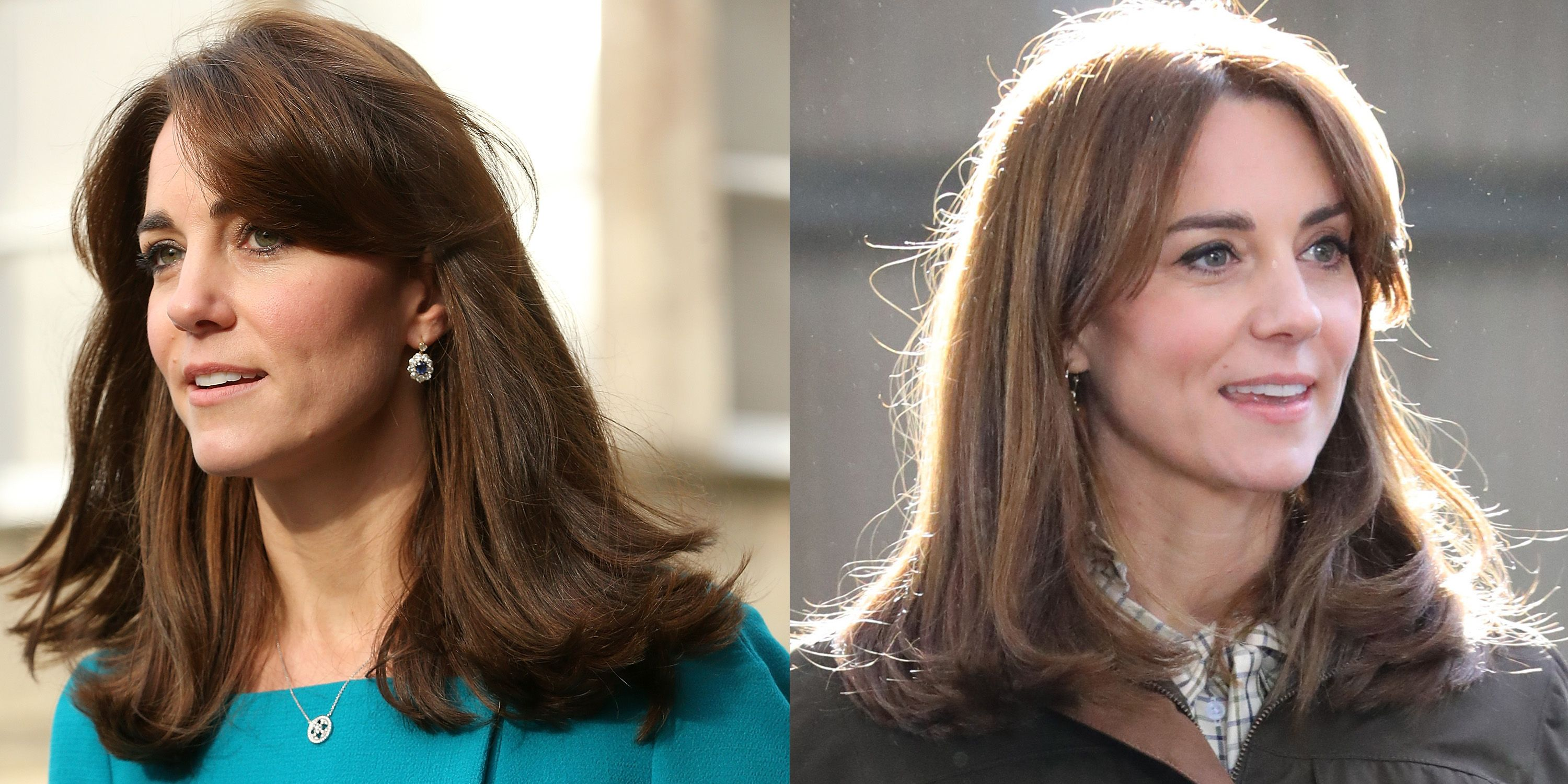 Kate Middleton S New Haircut Is Actually A Return To Her Mum Fringe