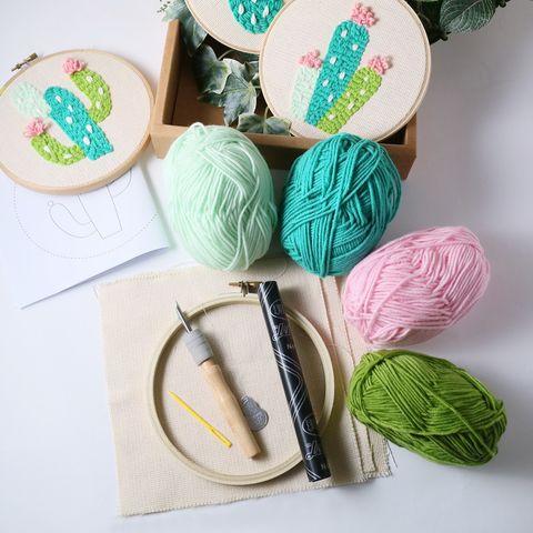 10組「手作材料包」讓你在居家防疫中找回心靈平靜!刺繡、羊毛氈、編織超熱賣,還能親子同樂邊玩邊學