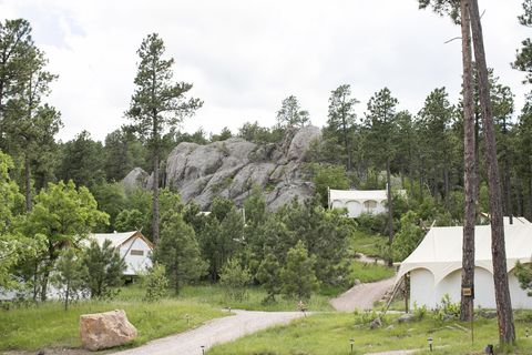 south dakota glamping under canvas