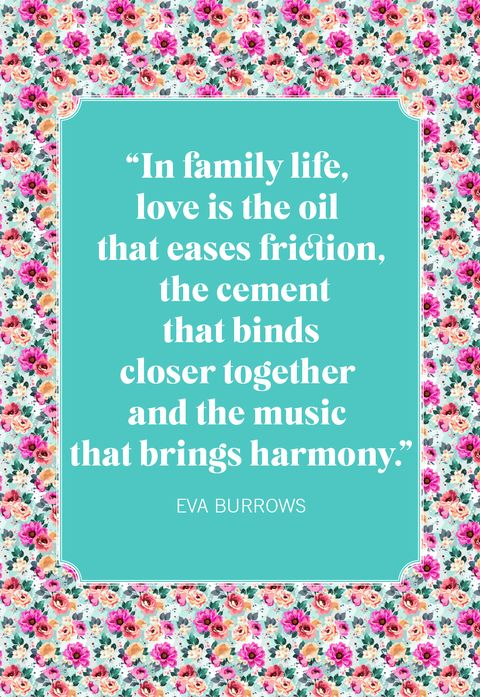 family quotes eva burrows